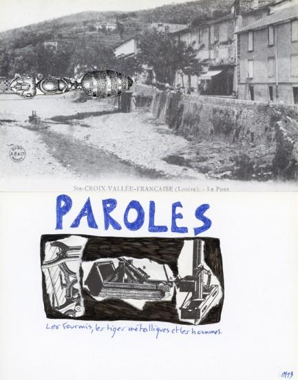 Marcel Mirale, Ste-Croix-Vallée-Française (Lozère). - Le Pont, 2013