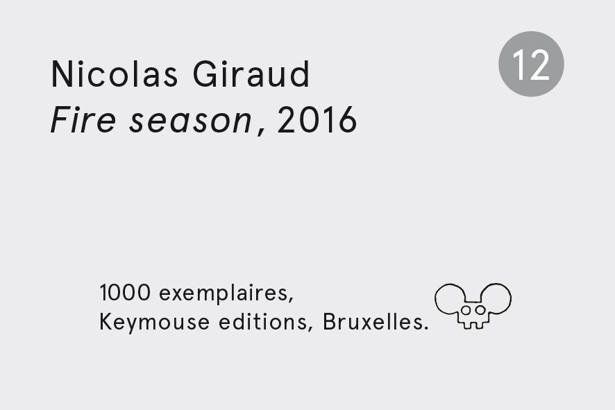 Nicolas Giraud Fire season 2016 - série n°12