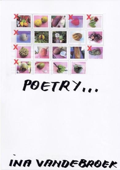 "Ina Vandenbroek - ""Poetry"", Cover by Jef Geys"