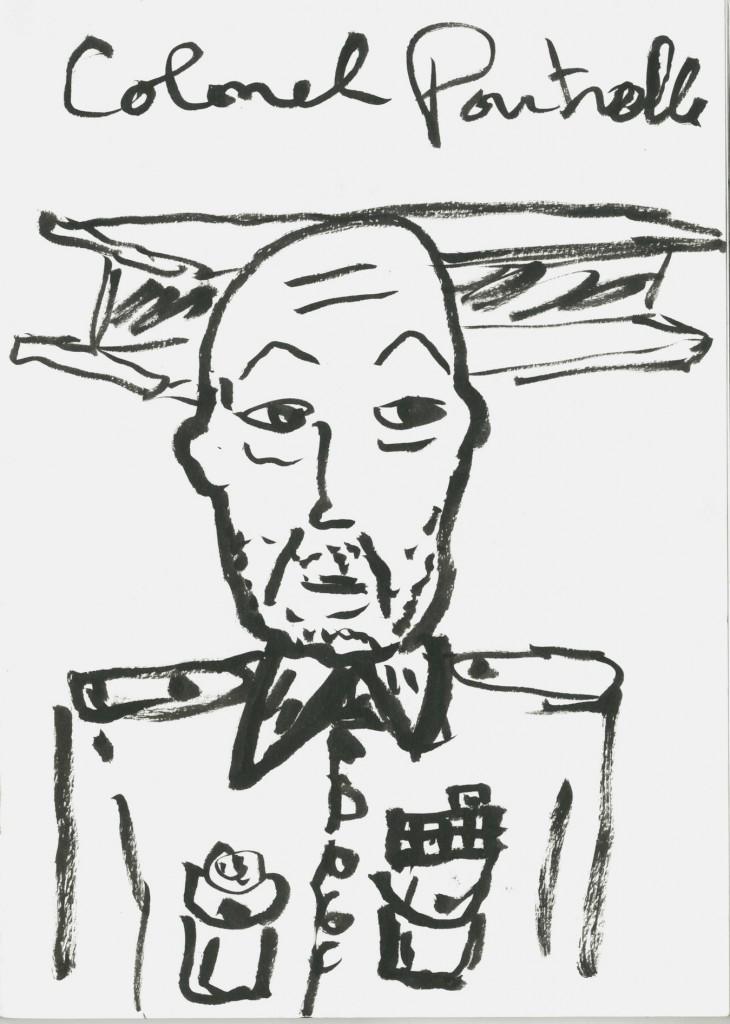 """Francois Curlet – Opération Mandarous, """"Colonel Poutrelle"""""""