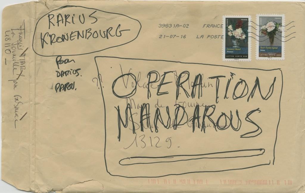Francois Curlet – Opération Mandarous