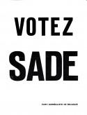 Tom Gutt - Votez Sade