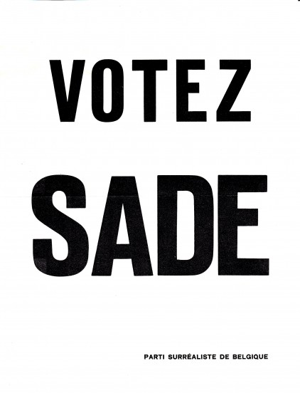 Tom Gutt - Votez Sade