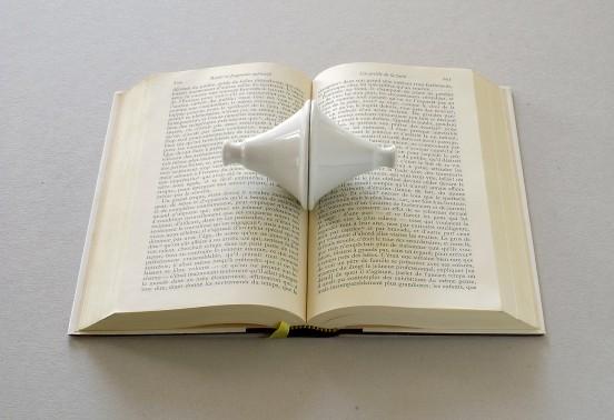 """Stéphane Le Mercier """"marque page pour livre ouvert"""""""